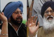 Captain vs Badals, War of words In Punjab